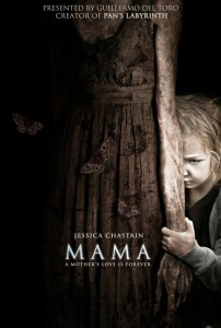 Mama poster 202x300 Movie Review: Mama Makes Creepiness a Family Affair