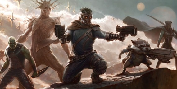 First Look at the 'Guardians of the Galaxy'