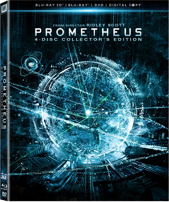 'Prometheus' Blu-Ray 3D Release and Details revealed! Sorry No Directors Cut