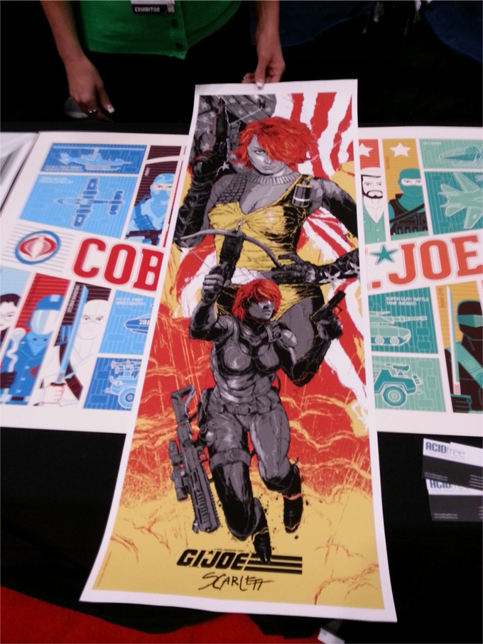 NYCC 2012: Acidfree Gallery Unveils New G.I. Joe Print; Owner Discusses Future Plans