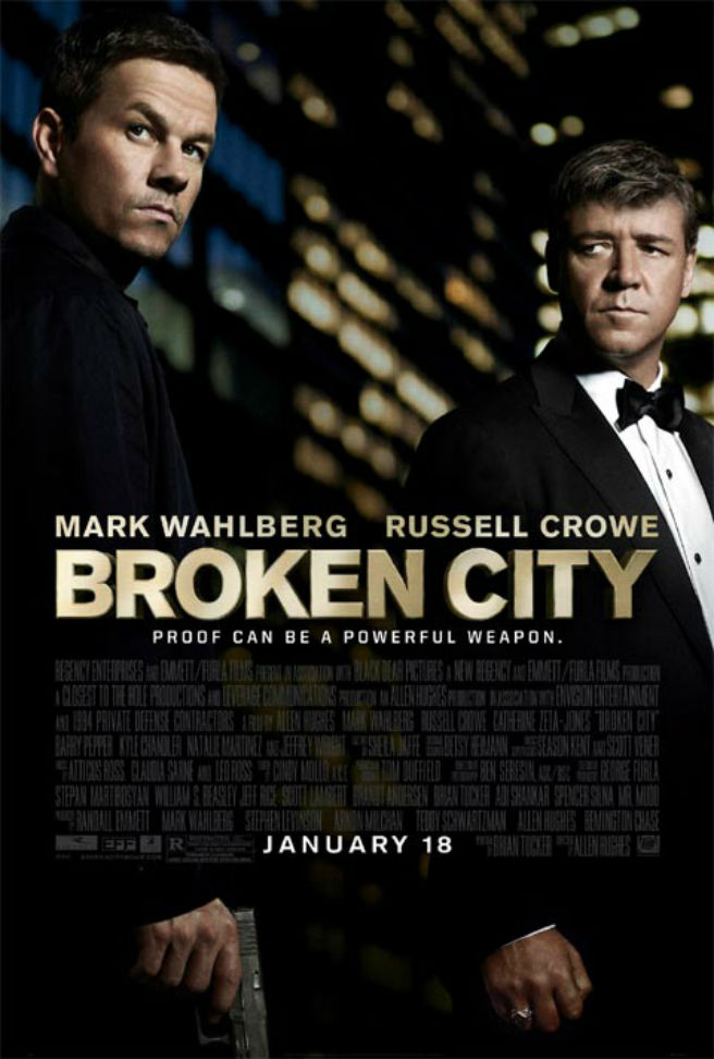 Broken City Movie Review: Wahlberg & Crowe Face Off In A Game of Politics