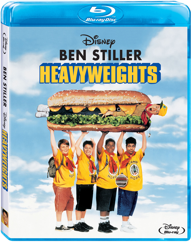 Get Off the Scale. HEAVYWEIGHTS is Coming to Blu-ray!