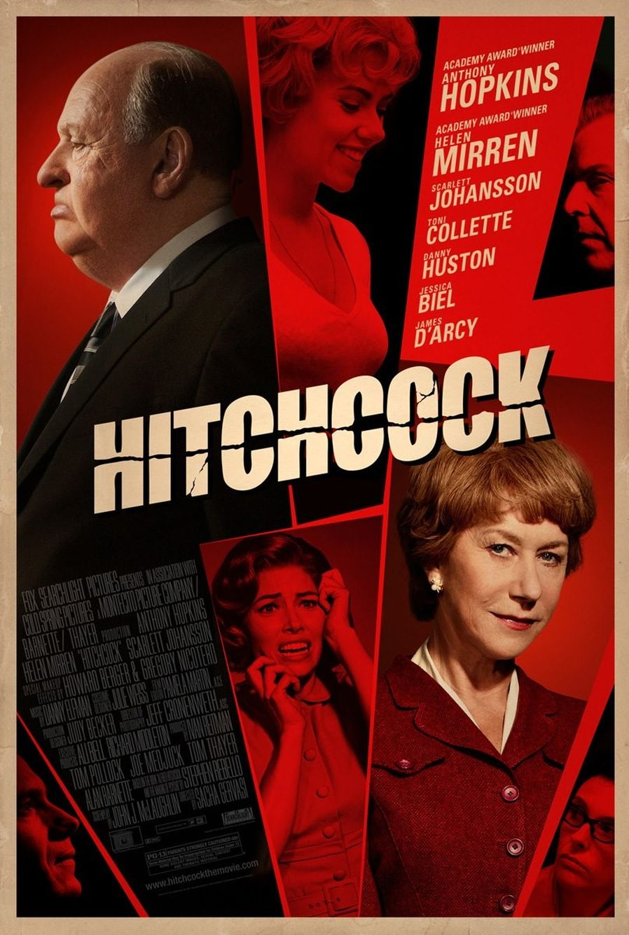 The First Trailer of 'Hitchcock' Starring Antony Hopkins Has Arrived!