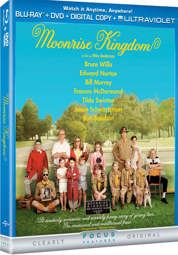 Blu-ray Review: 'Moonrise Kingdom' is Still a Great Film, But the Blu-ray is Light on the Features