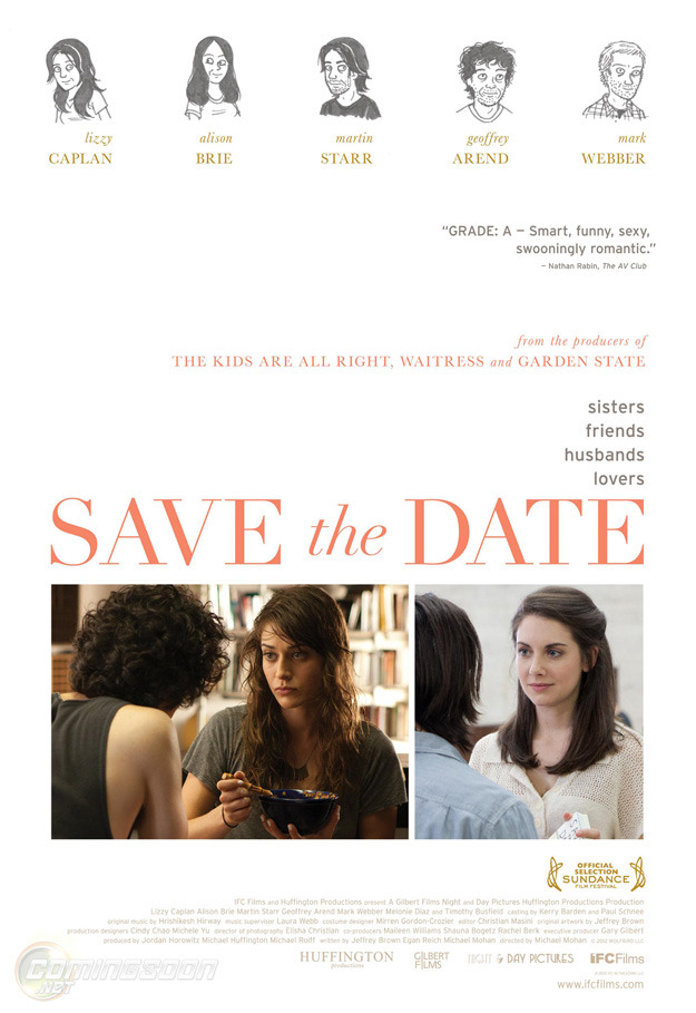 Trailer: 'Save The Date' Puts Lizzy Caplan In The Spotlight