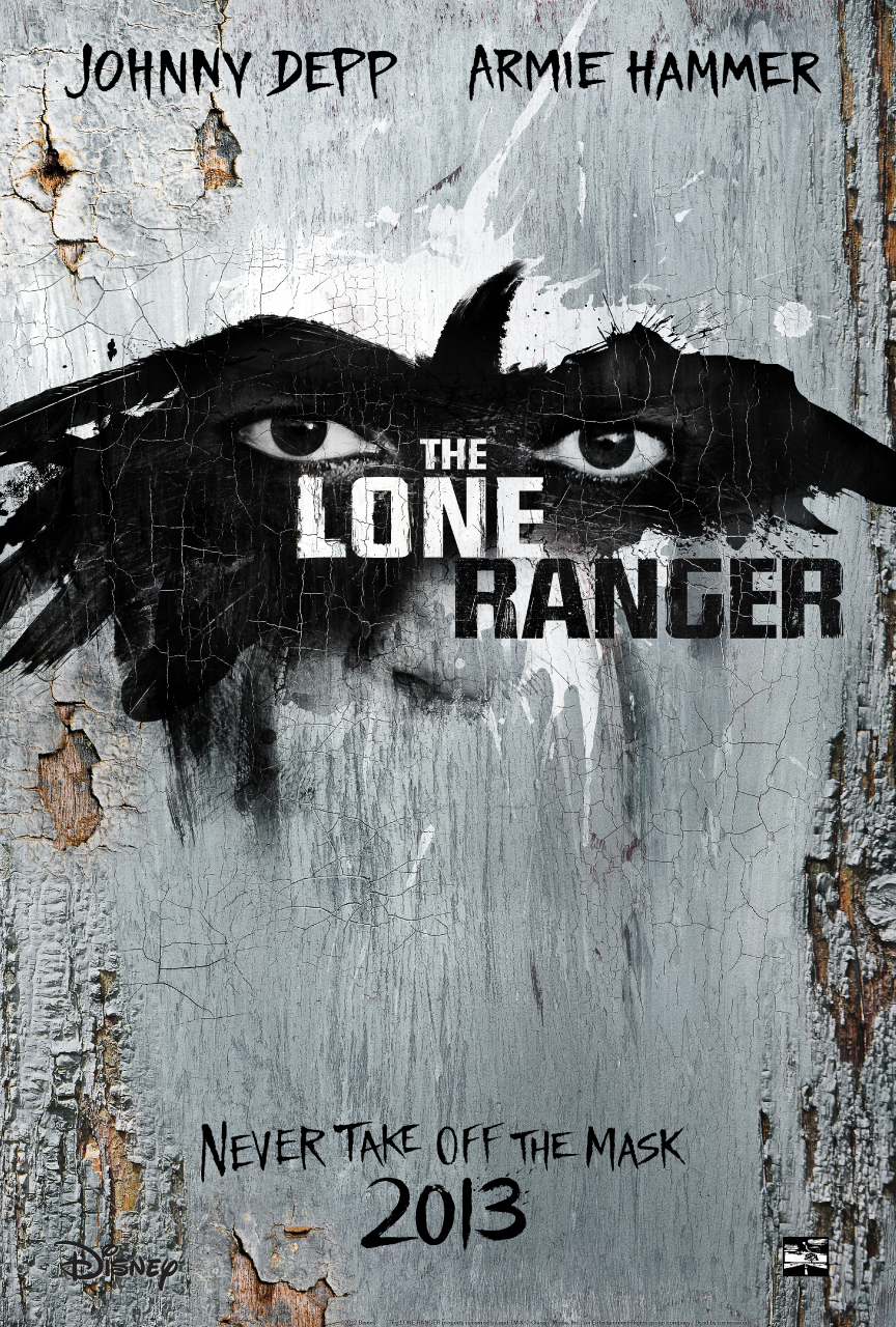 Teaser Poster and Stills for 'The Lone Ranger' Will Stare You Down
