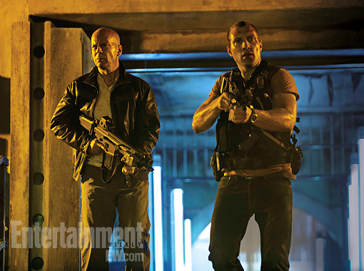 First Official Photo from 'A Good Day to Die Hard'