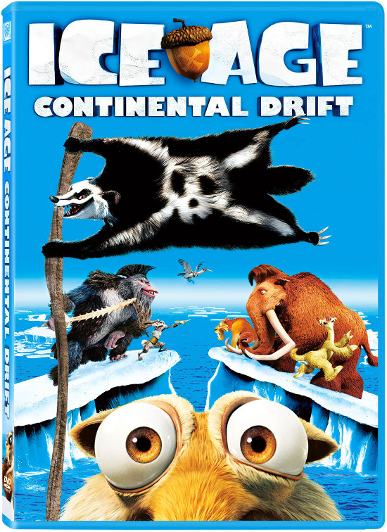 DVD Review: Ice Age: Continental Drift is Another Fun Addition to the Franchise