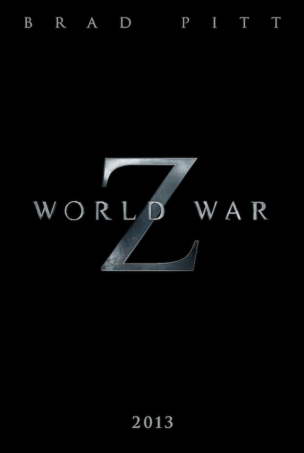 First Footage and Poster from 'World War Z' Debuted, Trailer to hit Thursday