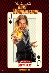 Incredible Burton Wonderstone Poster Jim Carrey 202x300 SXSW 2013: The Incredible Burt Wonderstone Review