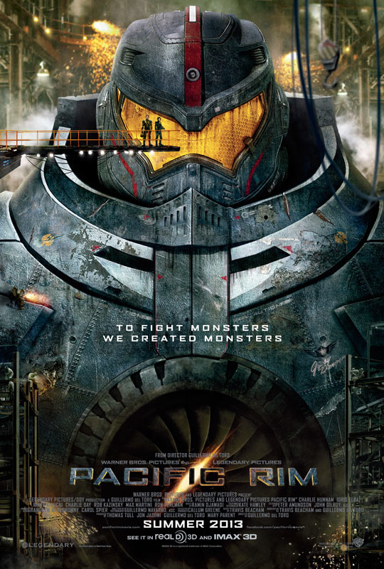 Giant Robots and Kaiju Galore! The Epic 'Pacific Rim' Trailer is Finally Here!