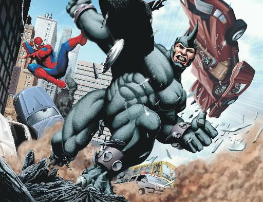 Amazing Spider-Man 2 Set Photos Reveal Pre-CGI Rhino Look