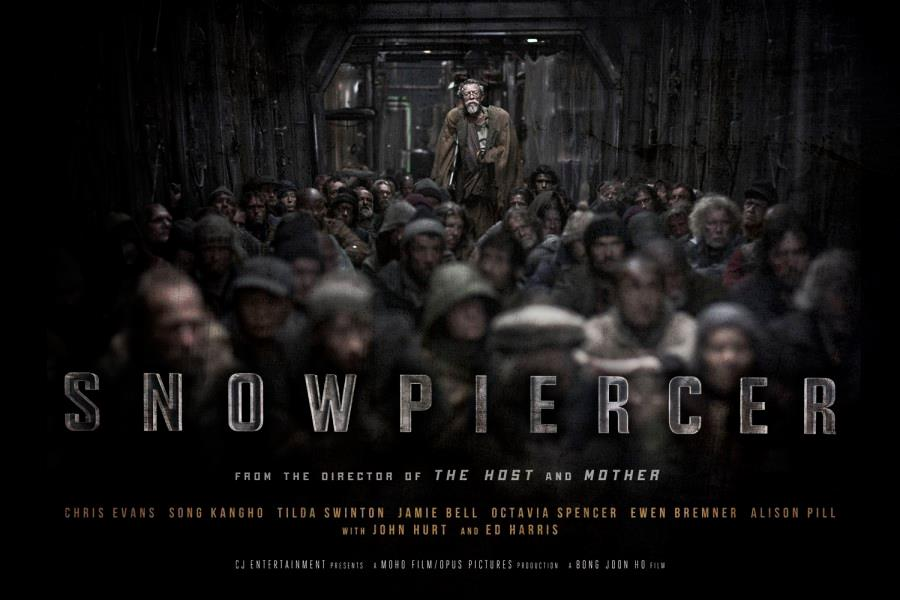 First Poster for Bong Joon-ho's English Language Debut, Snowpiercer