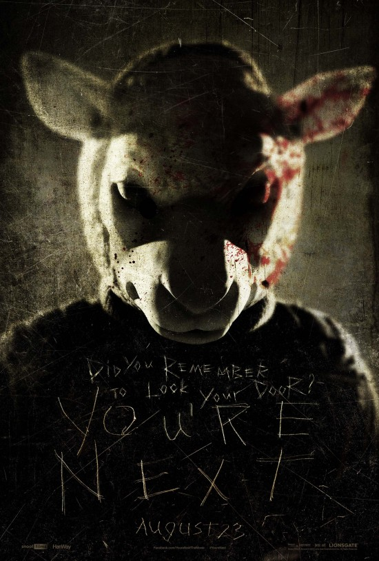 Animals Terrorize a Family in the First Trailer for the Badass Thriller 'You're Next'