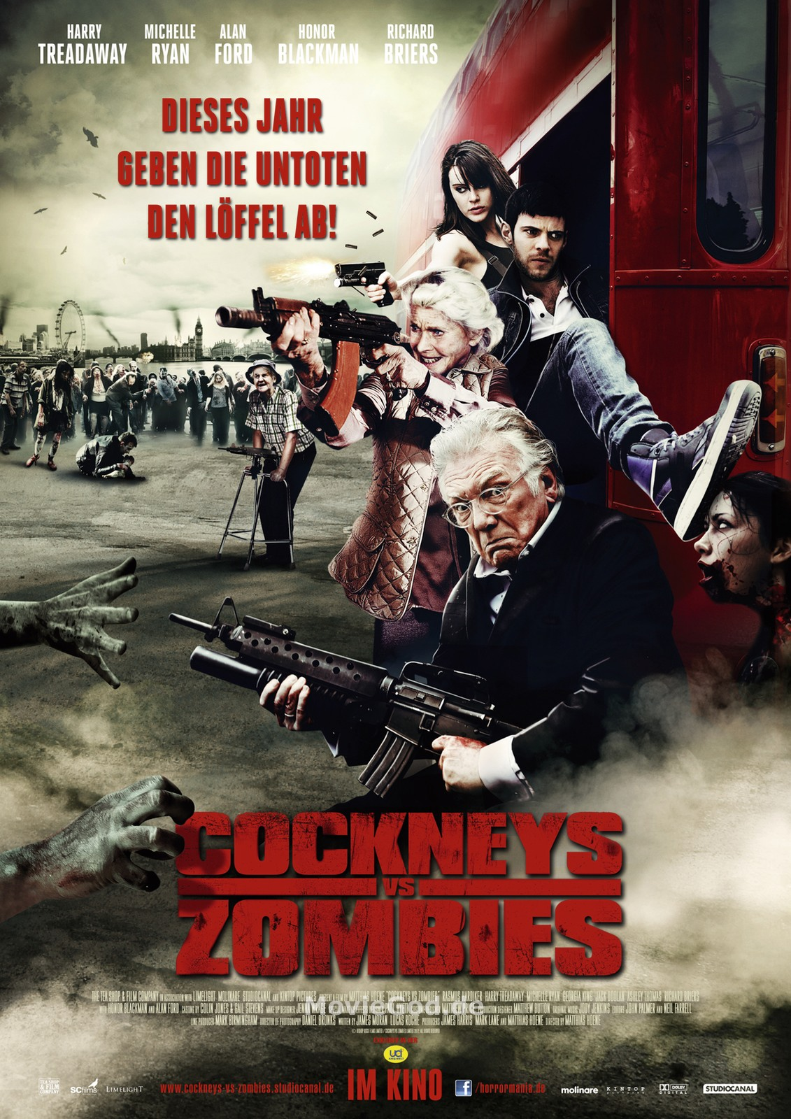 Movie Review: Cockneys VS Zombies – The East End Has Never Been So Bloody