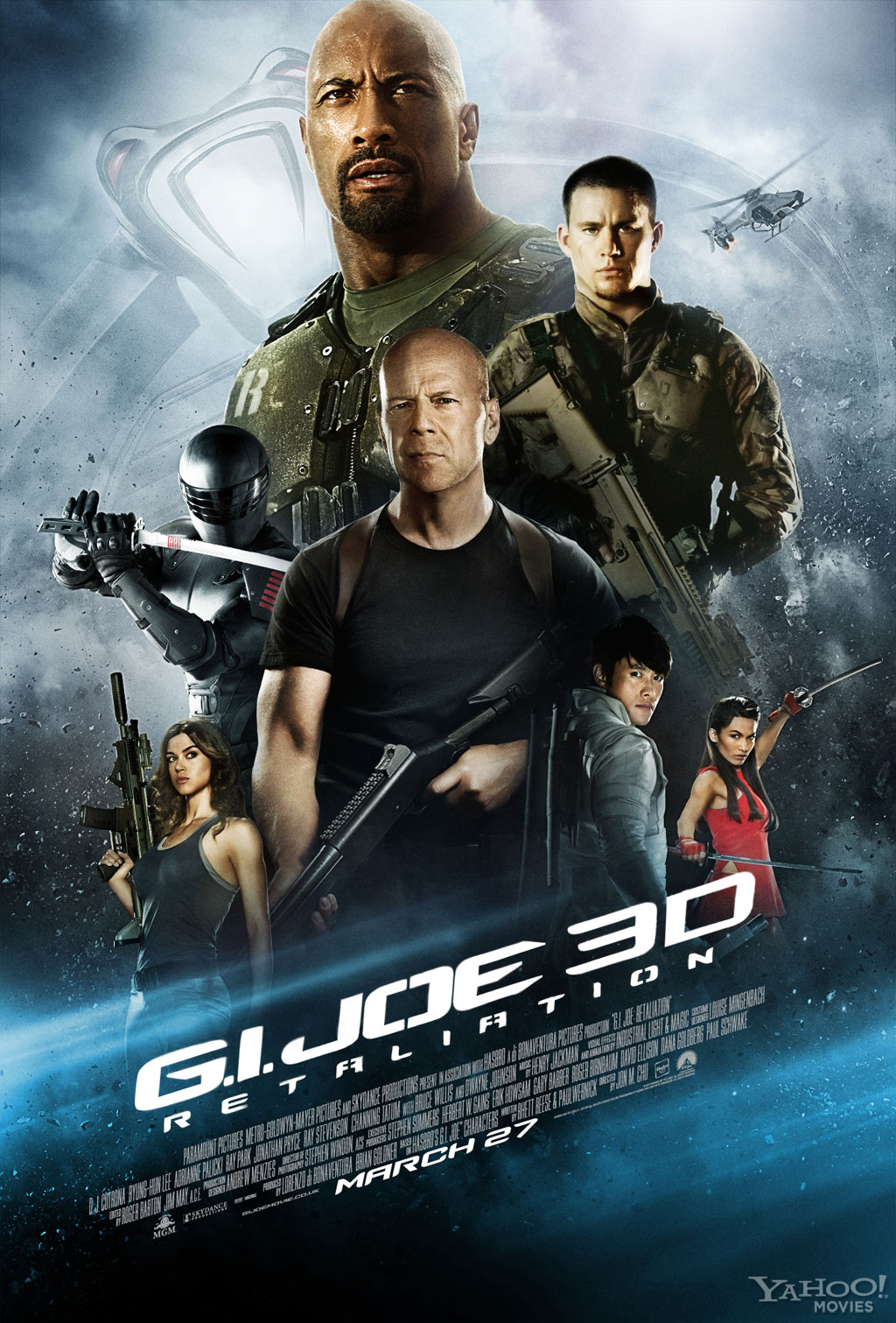 Movie Review: G.I. Joe: Retaliation is a Ton of Messy, Mindless Fun