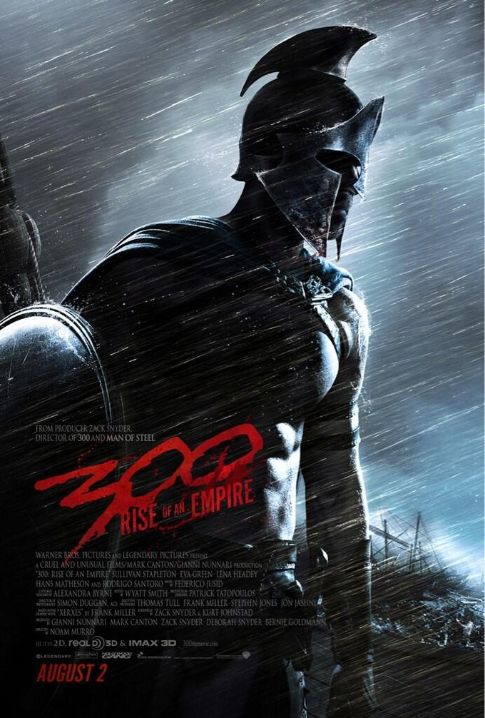 Zach Snyder Tweets Out First Poster for '300: Rise of an Empire'