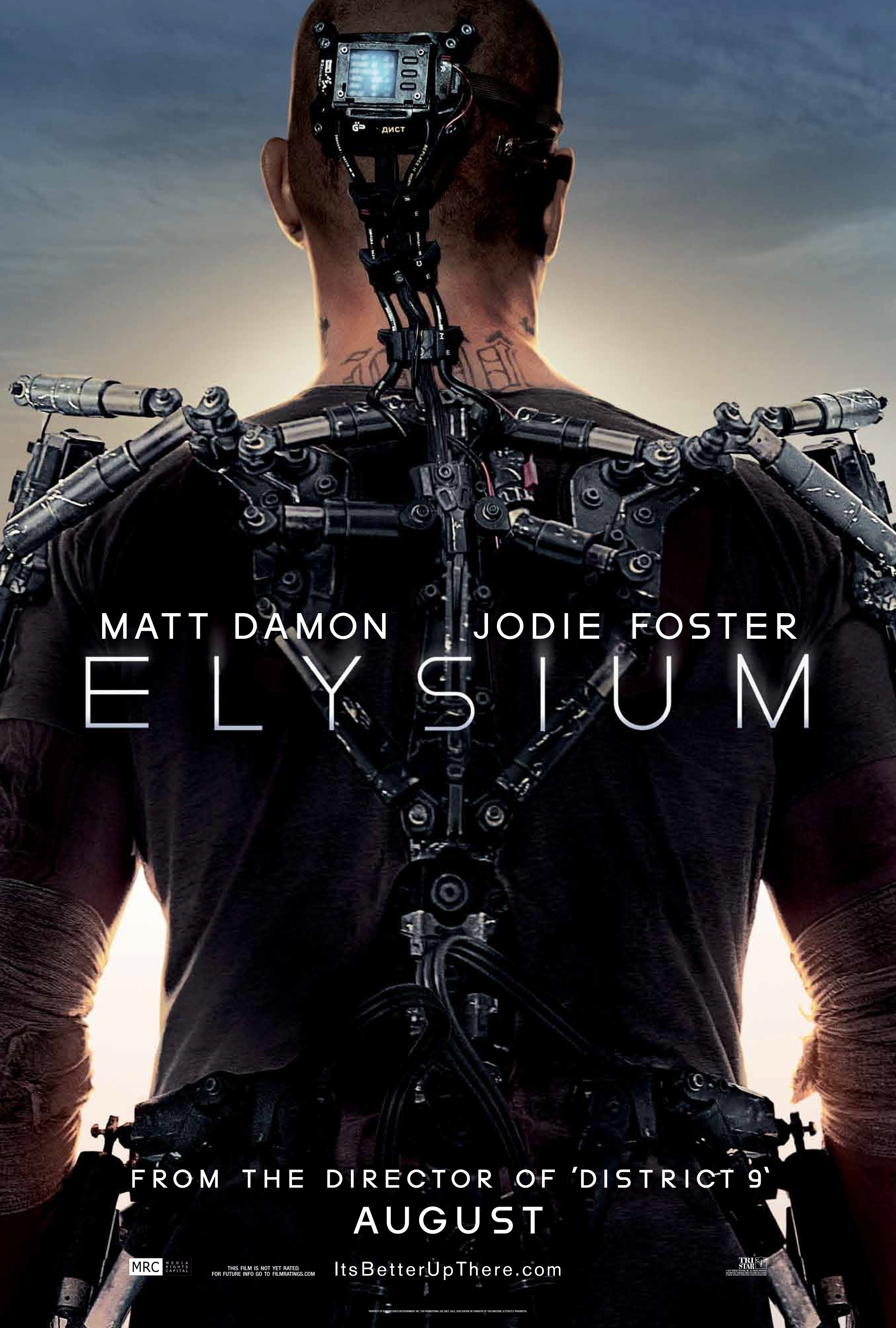 Explore the World of 'Elysium' in the First Trailer for Neill Blomkamp's District 9 Follow-Up