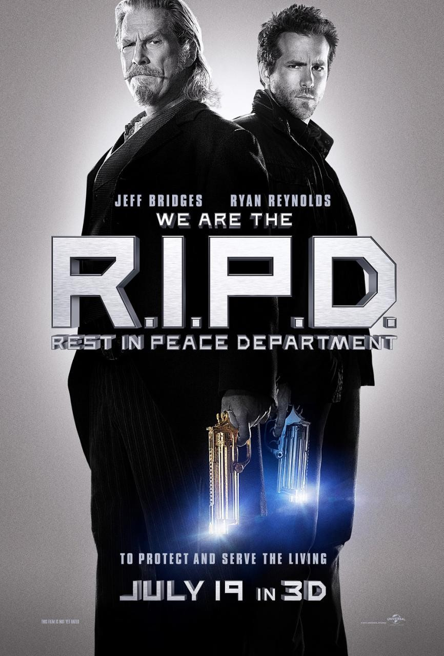 First Trailer for 'R.I.P.D' Shows Jeff Bridges as a Hot Chick and Ryan Reynolds as a Chinese Guy