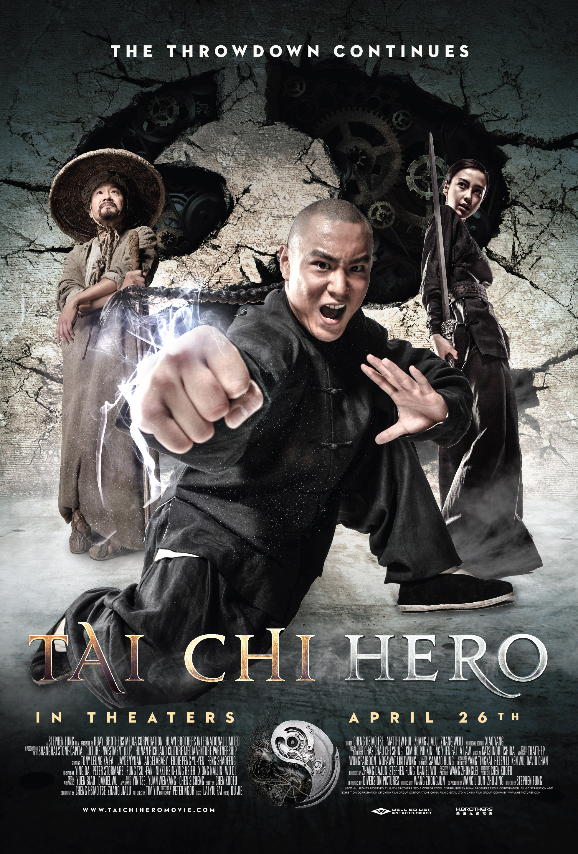 Tai Chi Hero poster 203x300 Movie Review: Tai Chi Hero in an ...