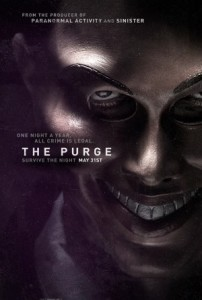 The Purge poster 202x300 The Purge Trailer Shows What Happens When All Crime is Legal for 12 Hours