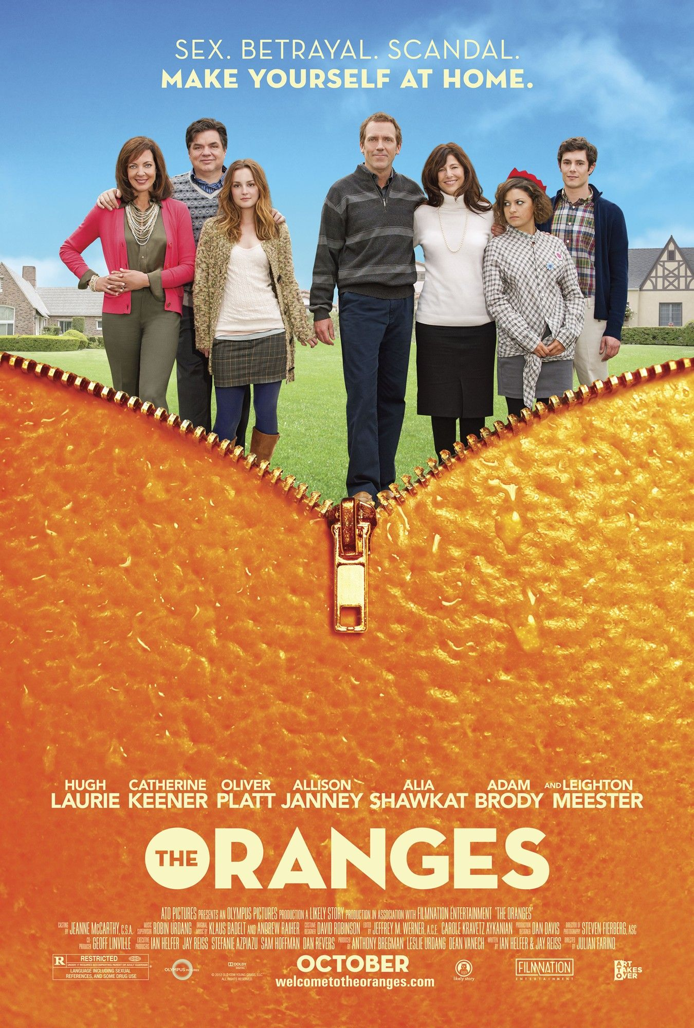 Movie Review: 'The Oranges' Shows that Life In Suburbia Is Confusing!
