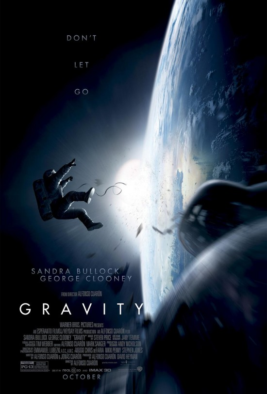 The First Trailer for Alfonso Cuarón's 'Gravity' is Awe-inspiring