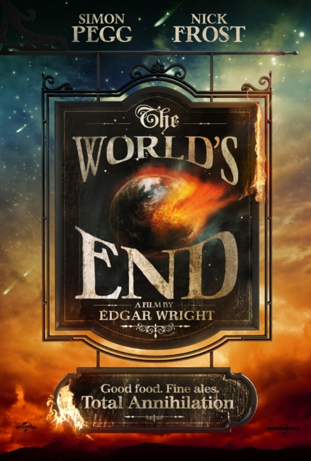 International Teaser Trailer for Edgar Wright's 'The World's End'