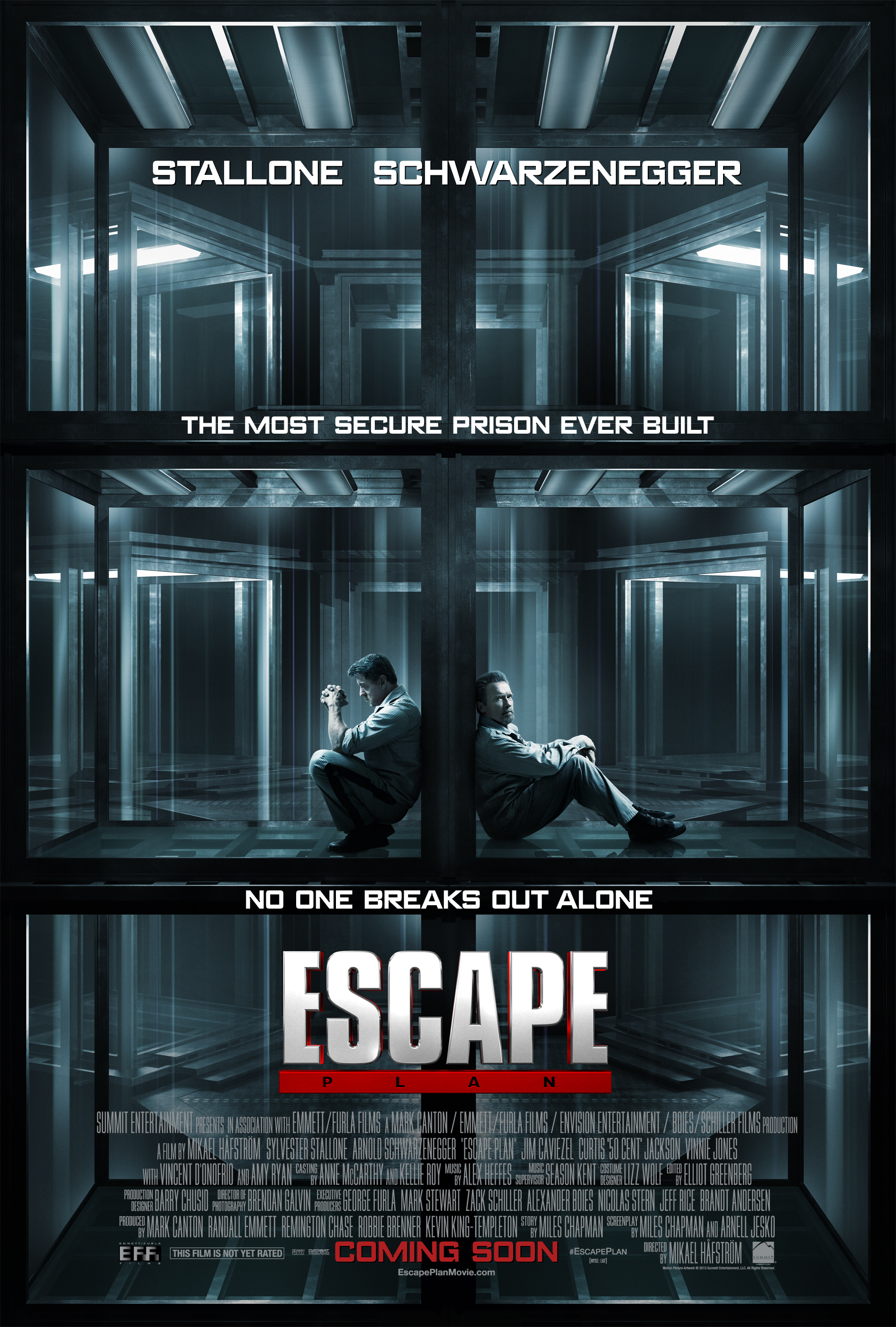 Movie Review: Arnold and Sly Attempt to Break Out in 'Escape Plan'