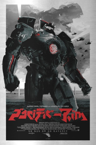 Go Big or Go Extinct! Odd City Entertainment announces a 'Pacific Rim' Series of Prints