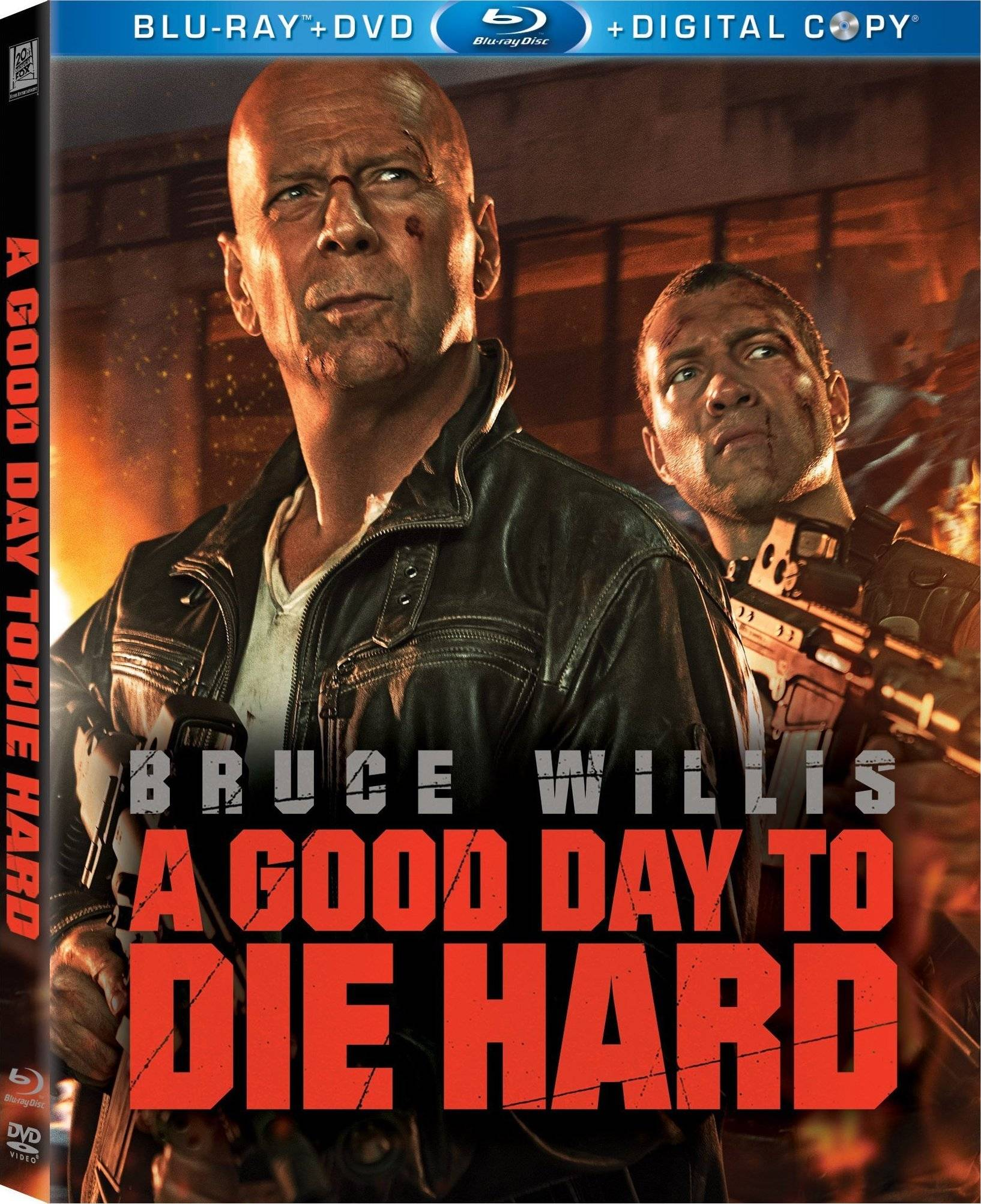 Blu-ray Review: A Good Day to Die Hard