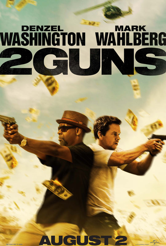Movie Review: '2 Guns' is Chock Full of Denzel and Wahlberg Awesomeness