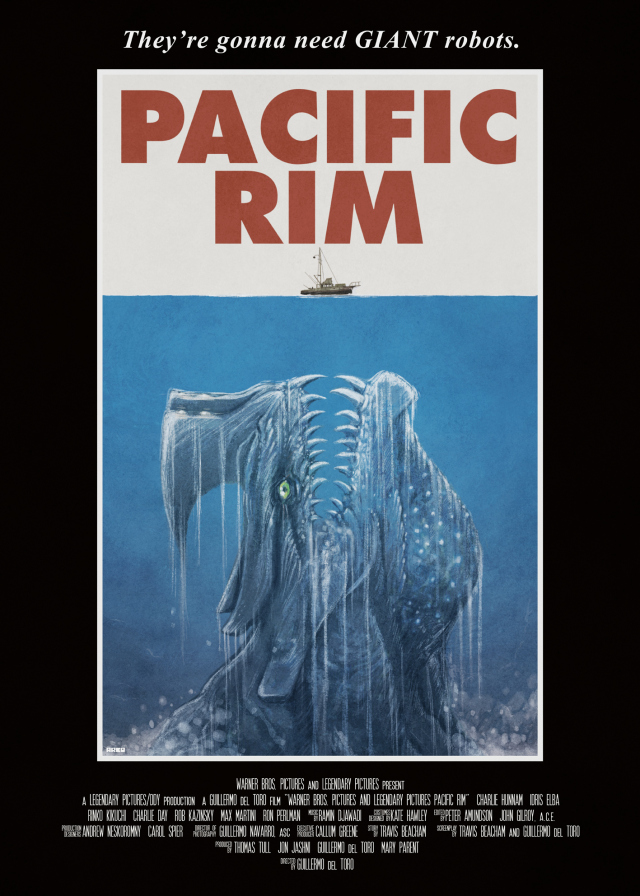 Awesome New Fan Art for 'Pacific Rim' ,Possible Mondo Preview Plus New Prints for Peter Jackson's 'Braindead'