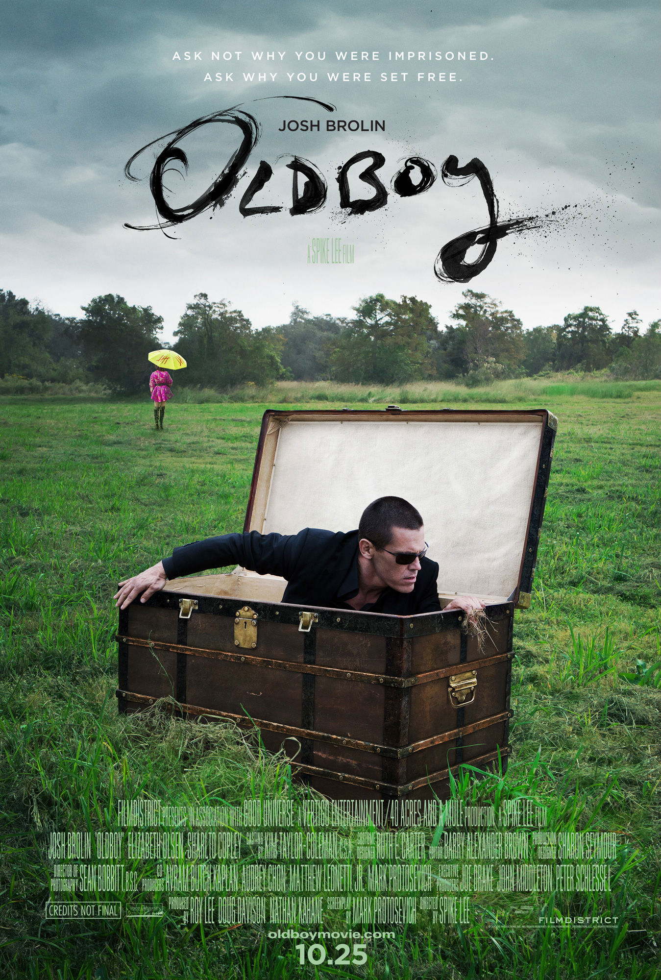 Movie Review: Spike Lee's 'Oldboy'