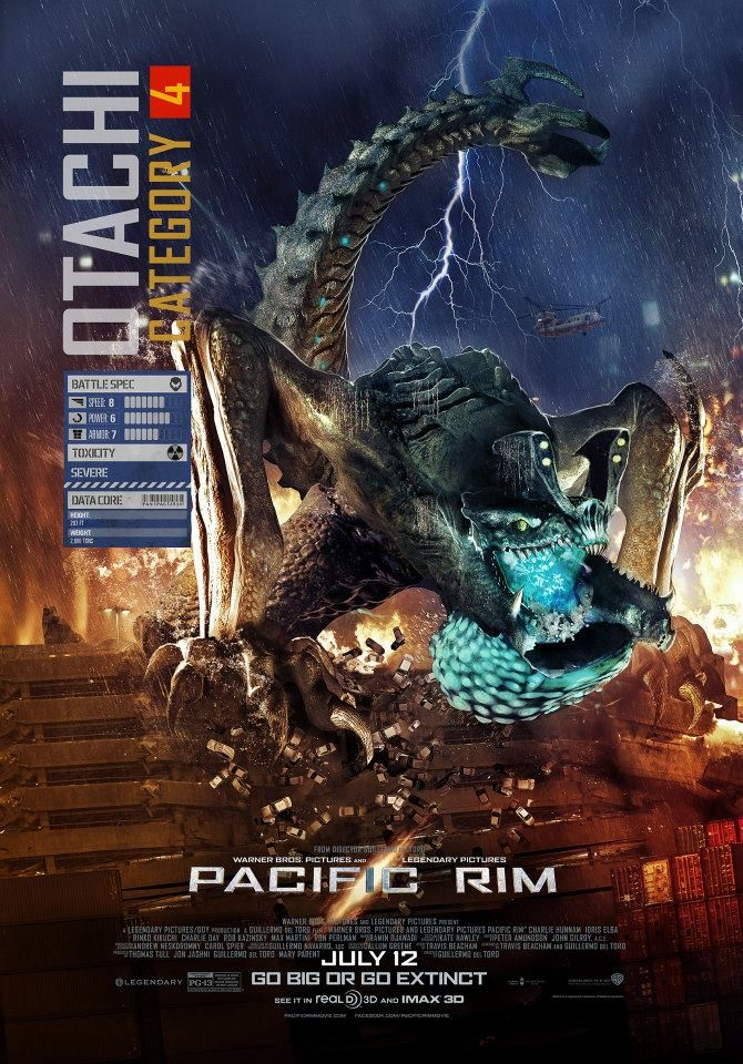 First Kaiju Poster for 'Pacific Rim' Surfaces