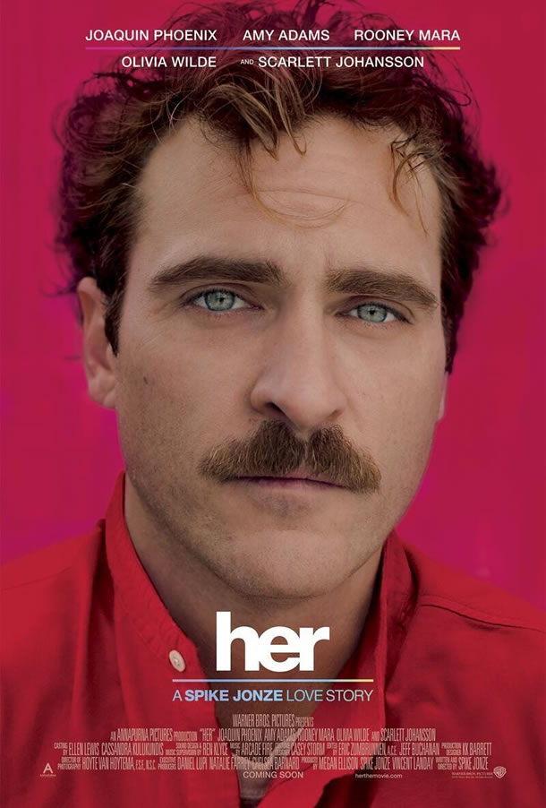 Trailer for Spike Jonze's 'Her' Has Joaquin Phoenix Falling in Love with an Operating System