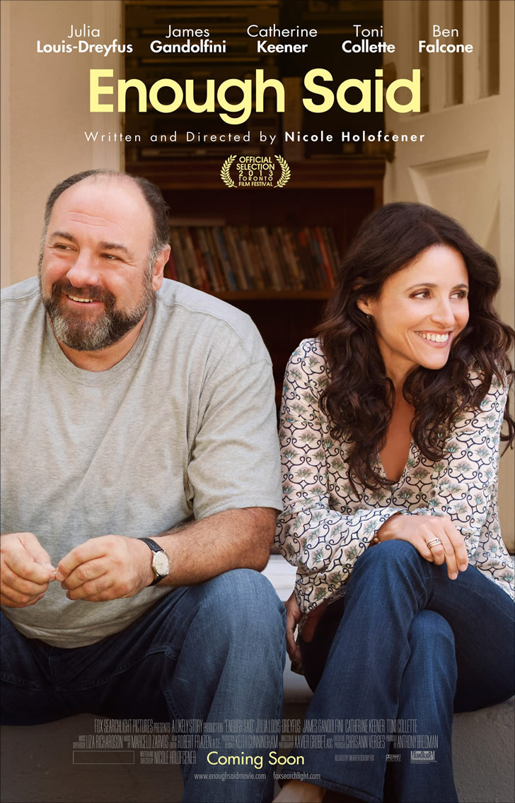 Movie Review: 'Enough Said' is a Rewarding Film Starring the Late James Gandolfini