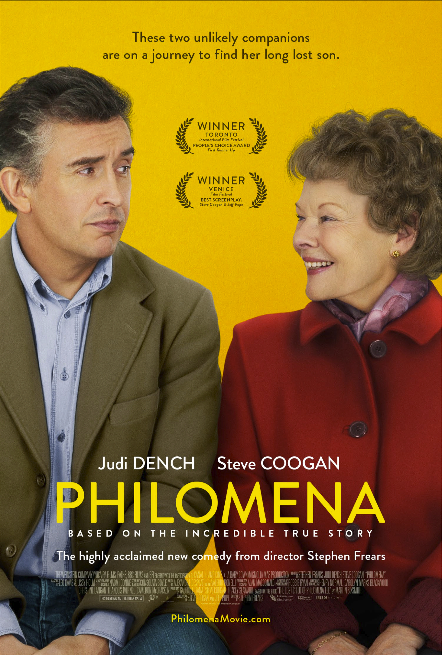 First Poster for Stephen Frears' 'Philomena'