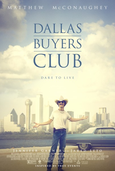 Movie Review: In 'Dallas Buyers Club' McConaughey Just Keeps L-I-V-I-N'