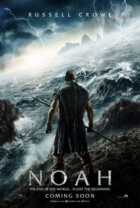First Trailers and Poster for Darren Aronofsky's Biblical Epic, 'Noah'