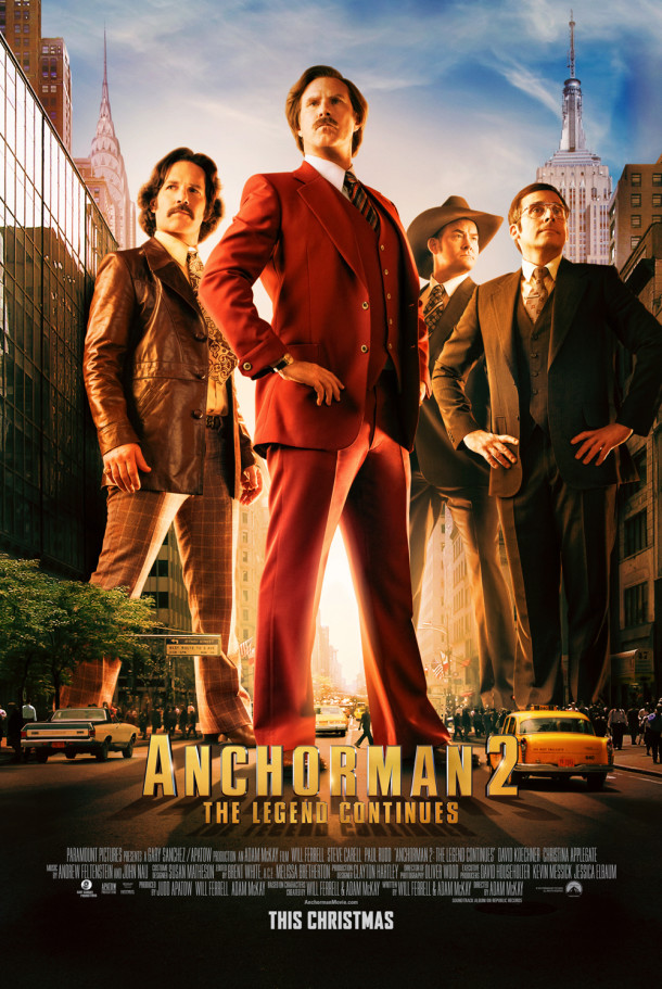 Anchorman 2 Poster 2