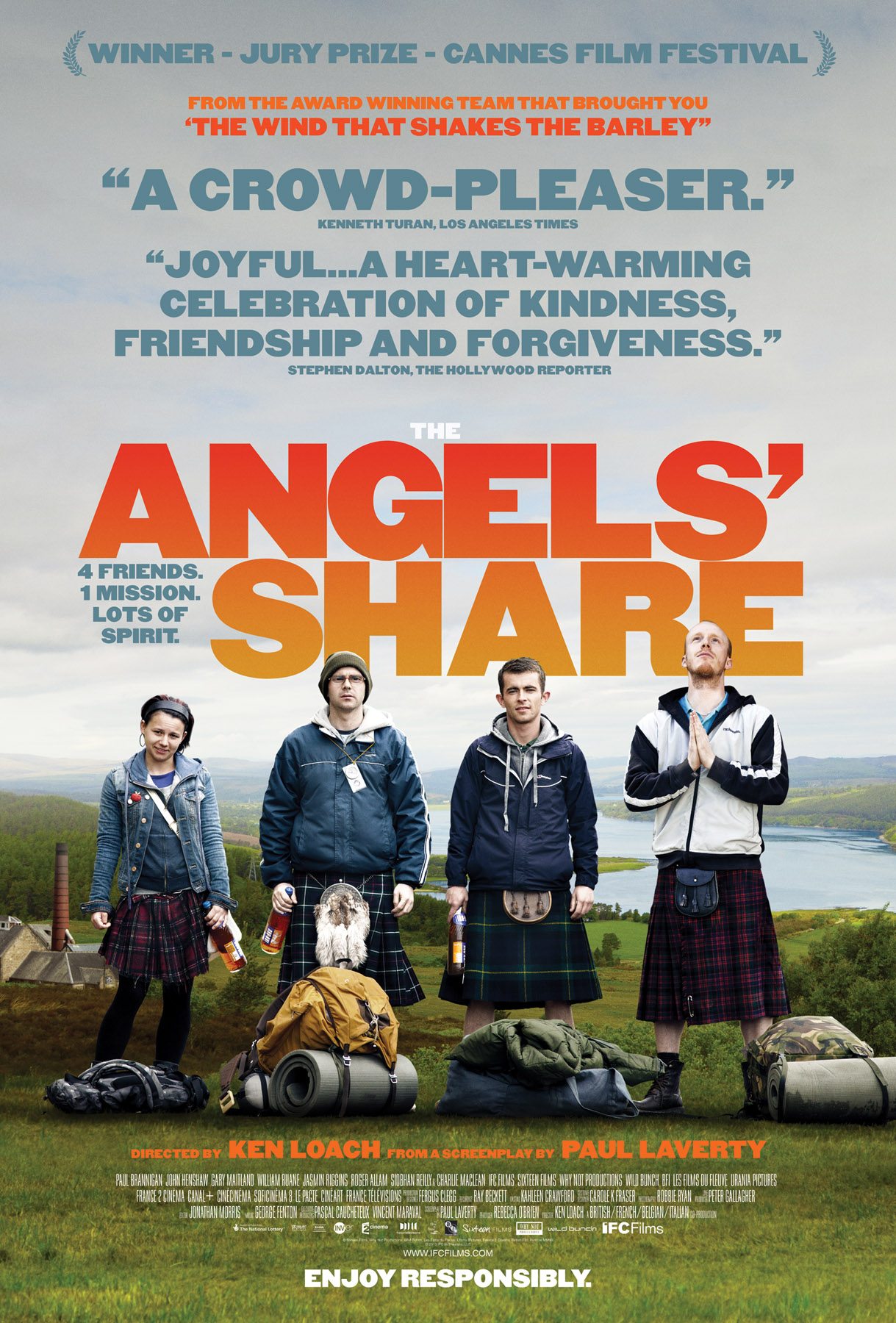 DVD Review: 'The Angels' Share' is one of 2013′s Crowd-Pleasing Gems