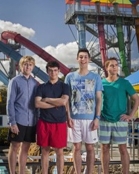 First Look at the Boys from 'The Inbetweeners Movie 2′ Set