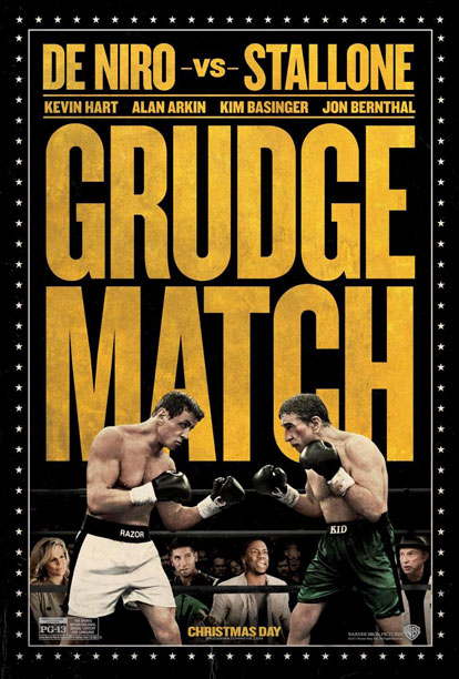 Movie Review: Stallone and DeNiro Shine in 'Grudge Match'… Too Bad They're the Only Ones Who Do