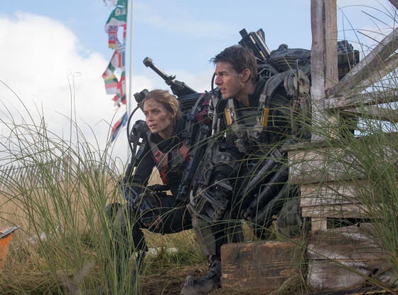 Tom Cruise Is On Repeat In First Trailer For 'Edge of Tomorrow'