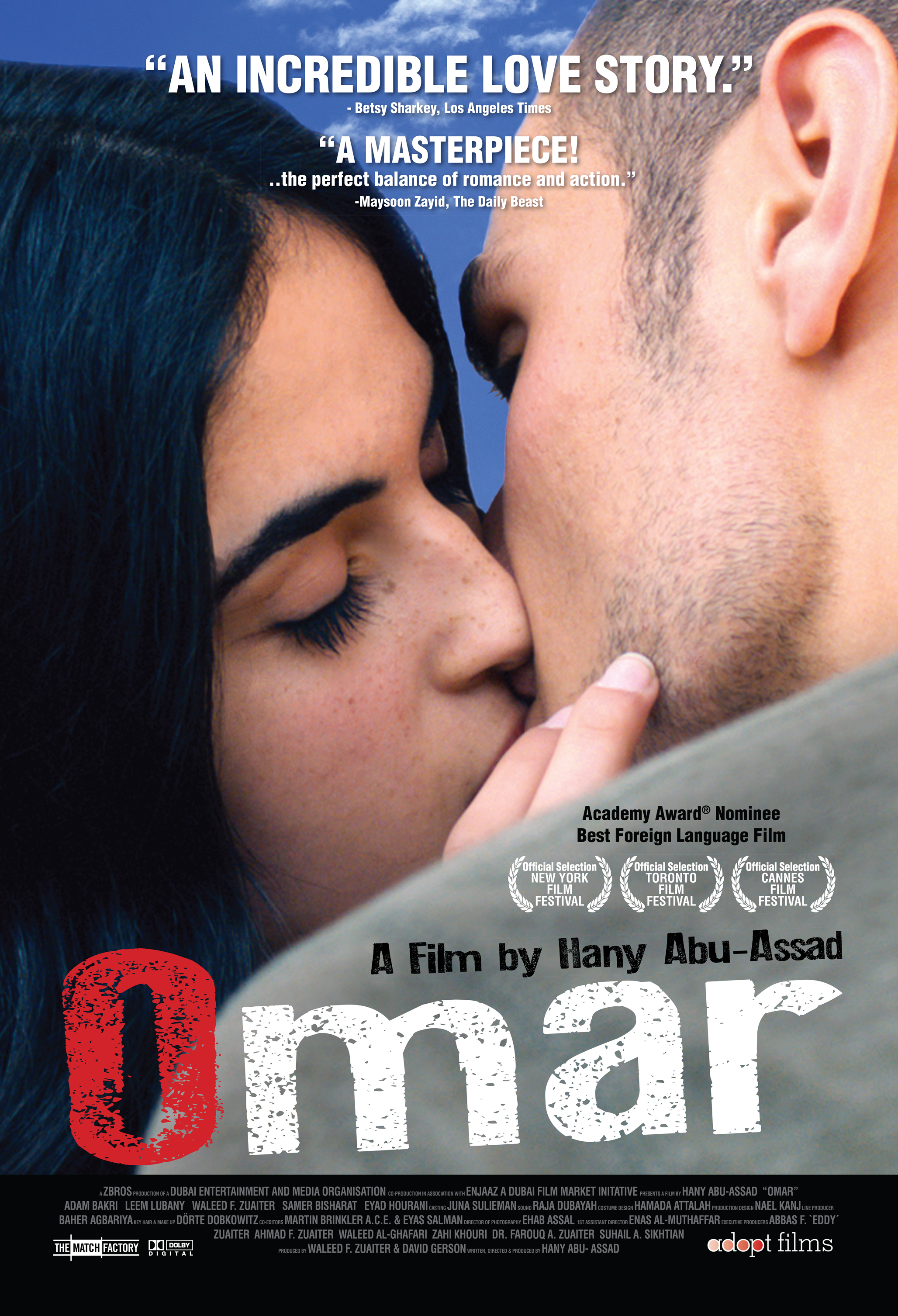 Movie Review: The Oscar Nominated 'Omar' is a Thrilling and Emotional Piece of Palestinian Cinema