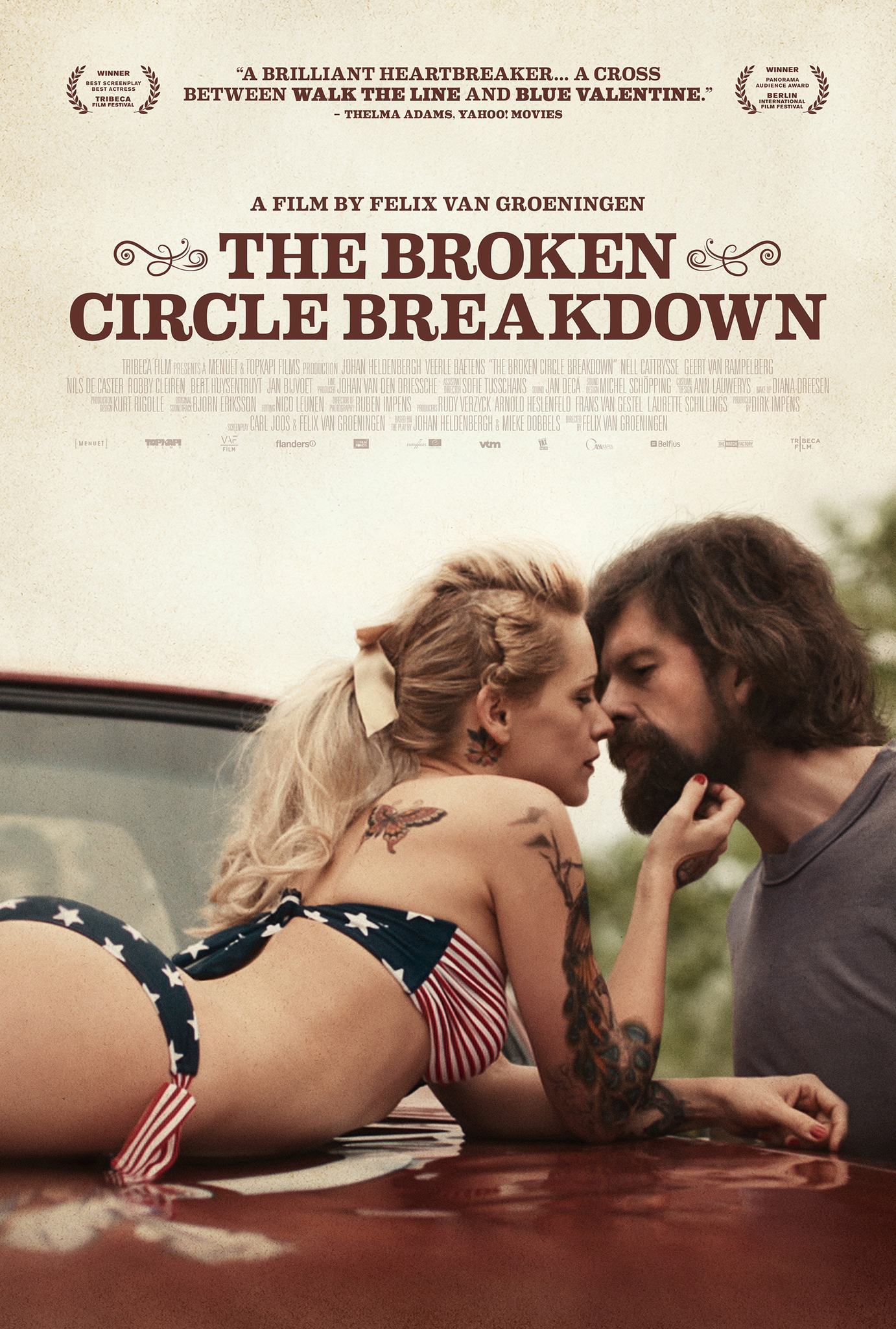 Movie Review: 'The Broken Circle Breakdown' is an Oscar Nominee Worth Seeking Out