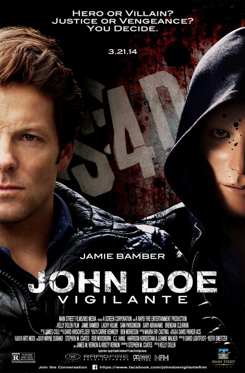 Trailer for Revenge Thriller 'John Doe: Vigilante'