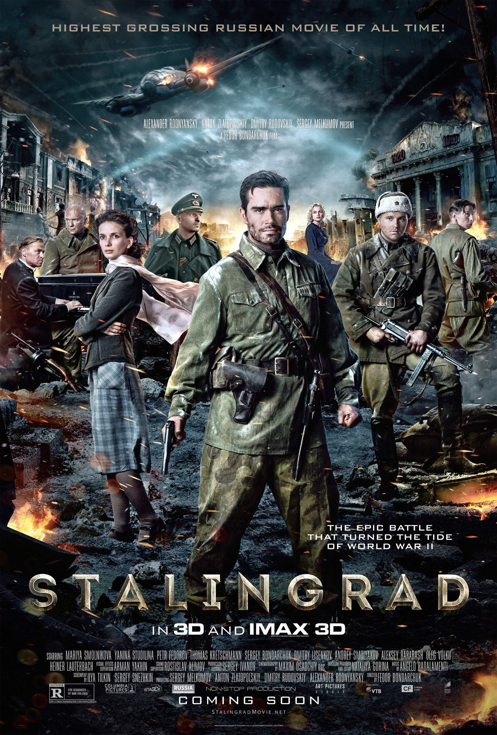 Movie Review: 'Stalingrad' Doesn't Live Up to it's Brutal History