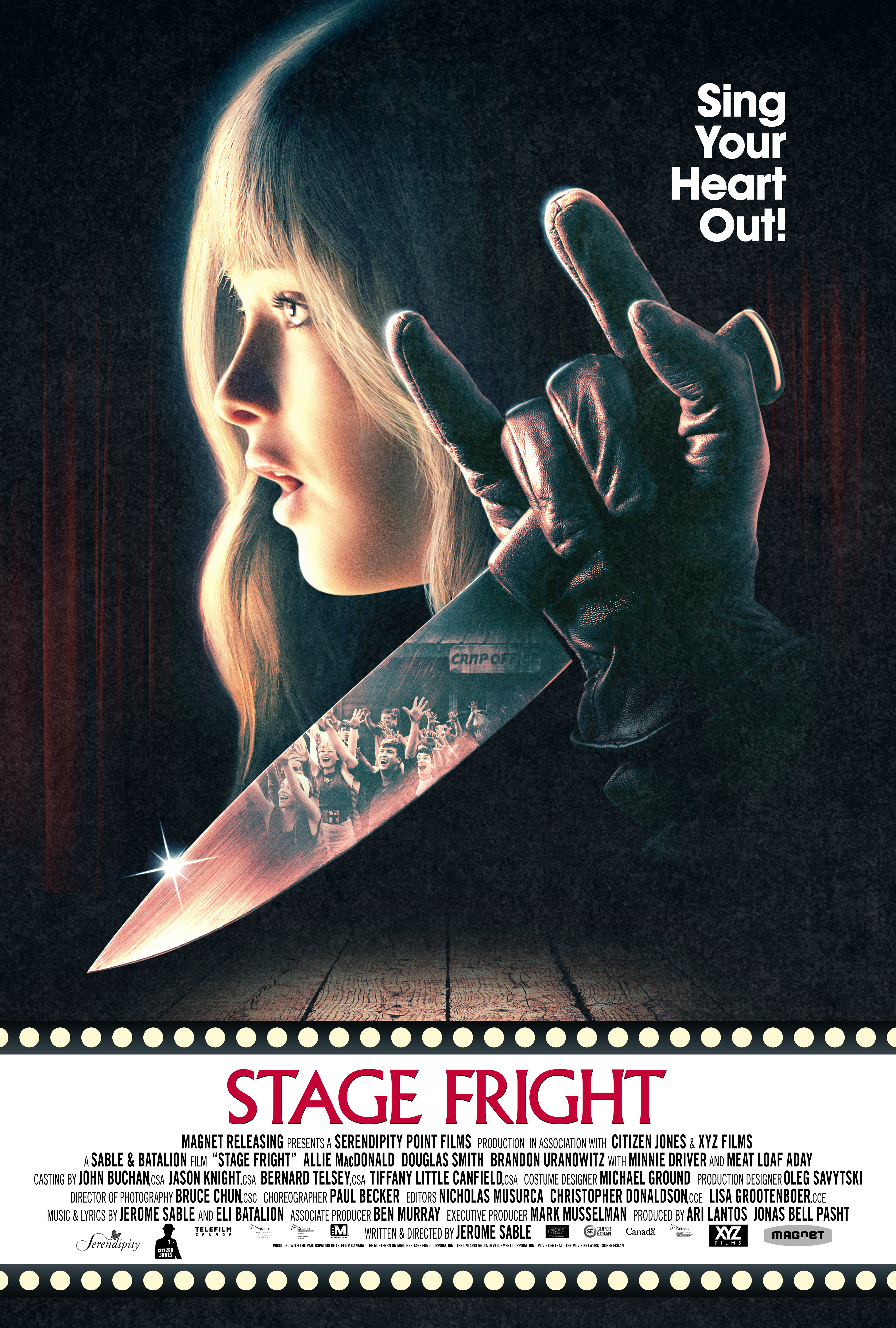 Movie Review: 'Stage Fright' Attempts to Make Theater a Bloody Endeavor